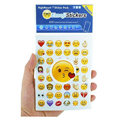 emoji sticker Emoji Aufkleber 19 Blätter mit Emojis Gesichter Kid Aufkleber von iPhone Facebook Twitter