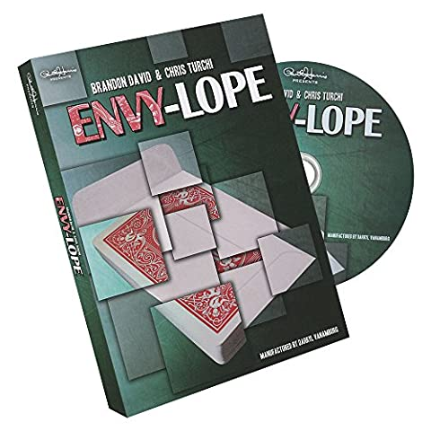 Paul Harris presents Envylope (Red) by Brandon David and Chris Turchi - DVD