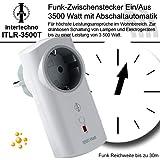 Intertechno Funksteckdose ITLR-3500T mit Abschaltautomatik