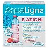 AQUALIGNE 5 AZIONI Vitarmonyl • Integratore 20 bustine • 5 azioni combinate: drenante, equilibrio del peso, metabolica, tonificante e digestiva