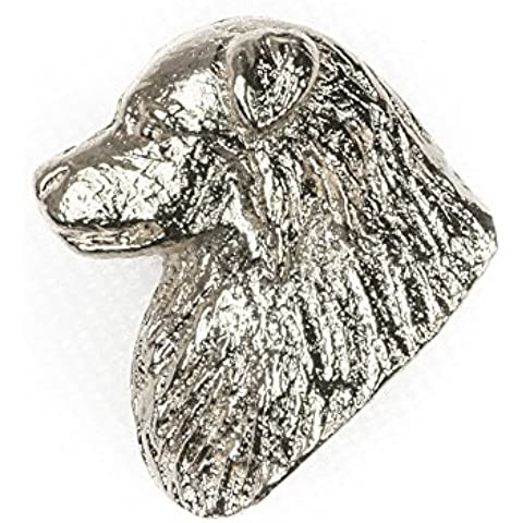 Pastor ovejero australiano Hecho en Reino Unido Artístico Perro Pin Insignia Colección