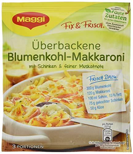 Maggi Fix und Frisch Überbackene Blumenkohl-Makkaroni, 36er Pack (36 x 43 g)