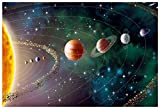 Rawpockets Our Solar System Wall Poster