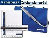 Staedtler Tasche mit Griff für Zeichenplatten, DIN A3 oder DIN A4  Auch im Set mit Zeichenplatte wählbar (1, DIN A4 + Zeichenplatte)