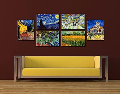 Time4Art Vincent Van Gogh Print Canvas 6immagine