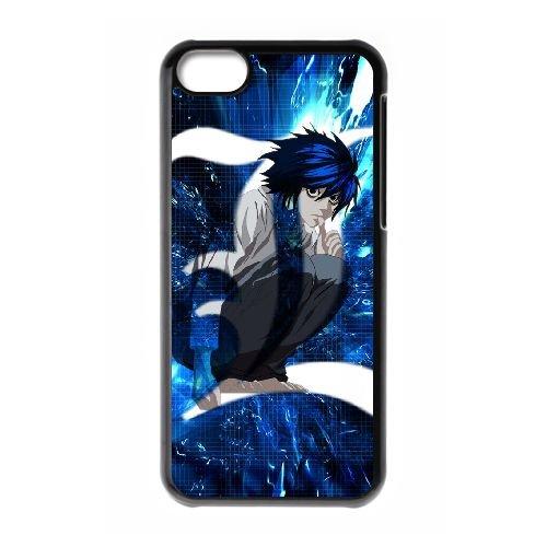 Death Note coque iPhone 5C Housse téléphone Noir de couverture de cas coque EBDXJKNBO11568