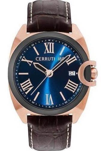 Cerruti 1881 CRA183SRB03BR Montre à bracelet pour homme