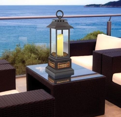 PowerHeat LED Electric Lantern / Patio Heater