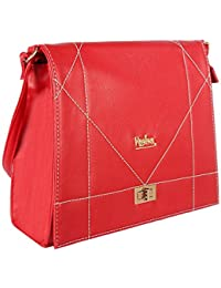 Premium PU Leather Casual Fashionable Women Sling Cross Body Bag Ladies Sling Bag By REBA (Available In 4 Colors...