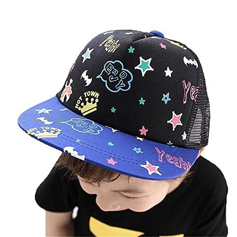Casquette Cap de Hip-Hop Chapeau Garçons Enfants,