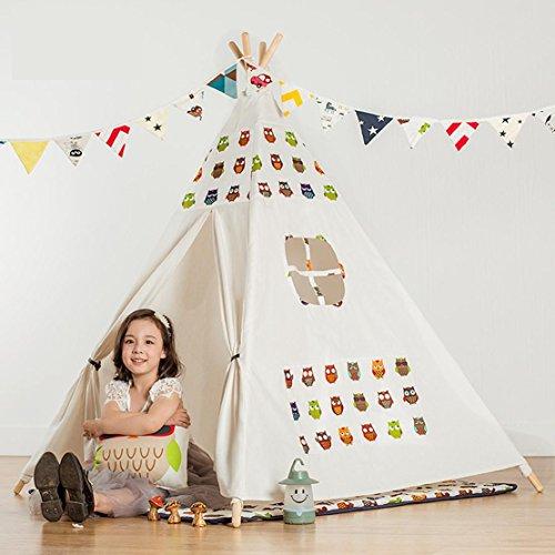 Tende di tela di cotone indiano tenda per bambini play House