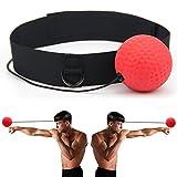 Gracetop Fight Ball Reflex Pugilato, Pugilato Punching Esercizio per Palestra, Boxe, MMA e Altri Sport di Combattimento - Puncher Boxe Speed Ball (Boxing Ball)