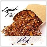 E-Liquid ***Dreh-Tabak - Mix*** für E-Zigarette / E-Shisha (3er Pack a 10ml mit 0 mg Nikotin / nikotinfrei)