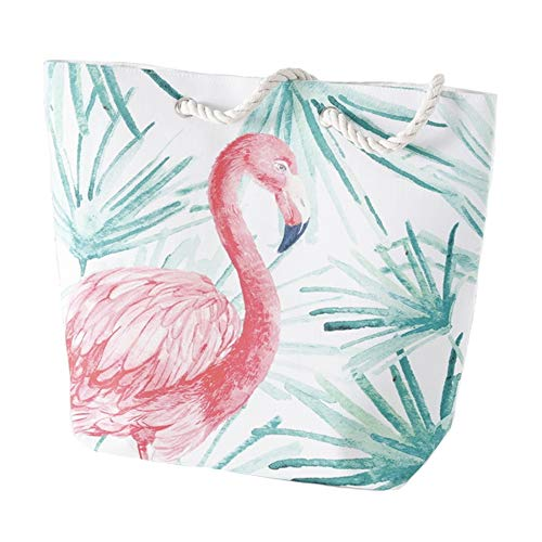 Home Collection Maletas Mujer Accesorios Bolso De Hombro Motif Tropical Flamingo Rosa