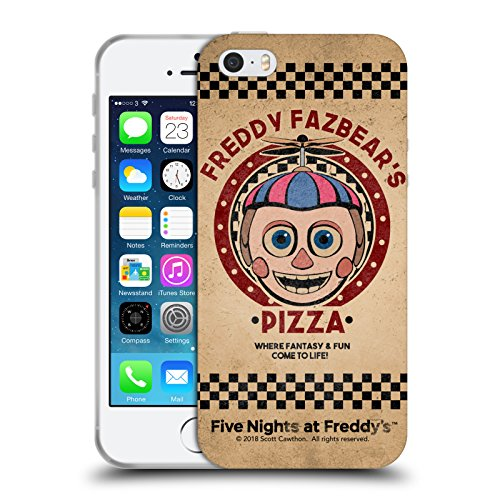 Official Five Nights At Freddy's Balloon Boy Freddy Fazbear's Pizza Soft Gel Case for iPhone 5 iPhone 5s iPhone SE