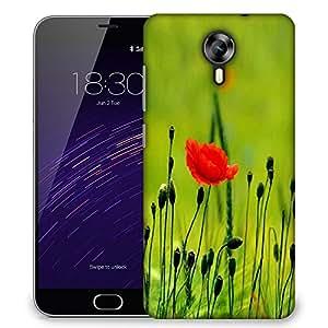 Snoogg Blossom Flower Designer Protective Phone Back Case Cover For Meizu M2