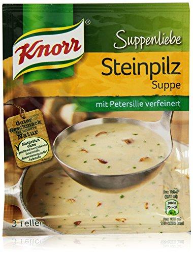 Knorr Suppenliebe Steinpilz Suppe 3 Teller