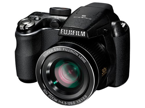 Fujifilm FINEPIX S4000 Digitalkamera (14 Megapixel, 30-fach opt. Zoom, 7,6 cm (3 Zoll) Display, bildstabilisiert)