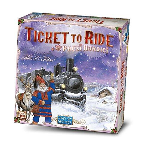 Asmodee Italia Ticket To Ride Paesi Nordici Edizione Italiana, 8512