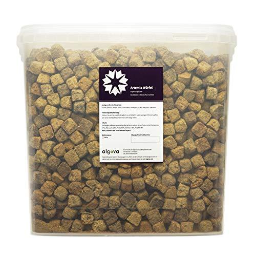 Cubi di artemia premium - Gamberetti in salamoia - Marca algova