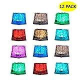 Led Eiswürfel Multi-Color Led Glow Light Flüssigkeitssensor Ice Cubes Light 12Er Pack...