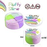 Flauschige Schleim Fluffy Slime Smartip flauschige floam Schleim liefert Jumbo floam Schleim Behälter Stressentlastung Spielzeug duftenden Schlamm Spielzeug für Kinder und Erwachsene 6 Unzen (4 Farbe) hergestellt von Homyway