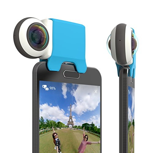 Giroptic iO Micro USB - HD Caméra 360 Degrés pour smartphones Android