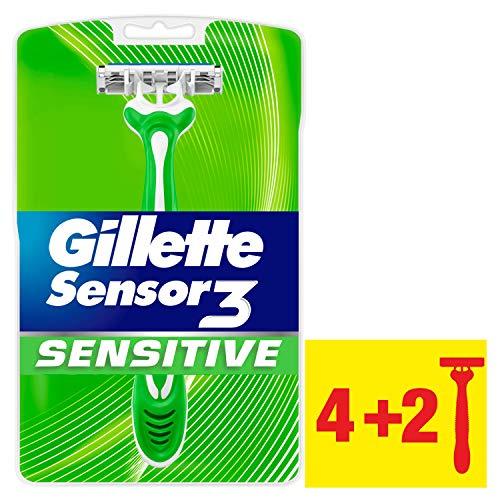Gillette Sensor3 Sensitive Einwegrasierer 4+2 Packung -