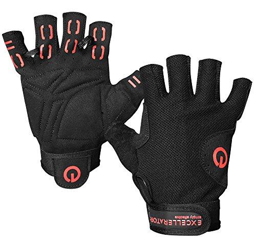 Excellerator excg-2Training-Handschuhe Unisex S schwarz/rot (Handschuhe Eingabe Warm Von)