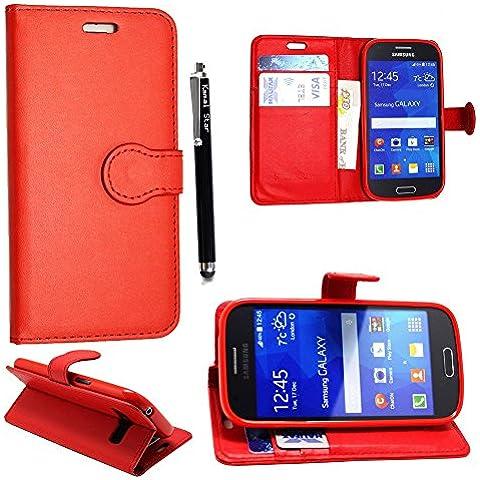 Samsung Galaxy S3 S3 neo i9300 i9301 Funda, Kamal Star® PU Leather Cuero con Tarjeta de Crédito Slots Funda Wallet Carcasa Cover +