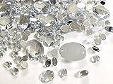 Crystal King Lot de 600pierres ovales - Mélange de pierres et strass scintillantes à coudre, pierres strass pour décoration