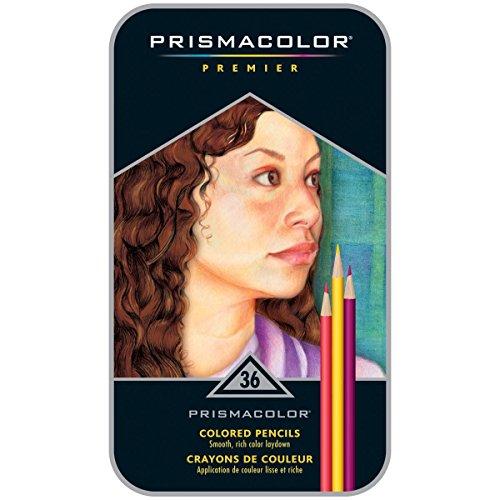 Sanford Prismacolor Premier Colored Pencils 36/Pkg