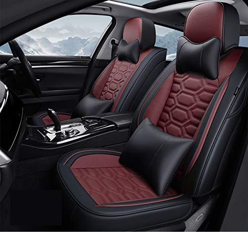 Autositz vier Jahreszeiten Universal Buick Excelle brandneue britische Lang GT Civic Universal Allround-Autositzbezug Auto Matte,Red