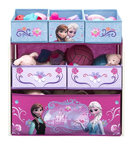 i Toy Organizer - Holz mit Canvas  - Frozen (Disney Baby-tücher)