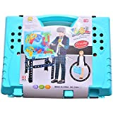 Priya Enterprises Engineering Tooltool Set Toys For Kids, (Set Of 63 Pcs) Pretend Playset, Little Engineer Pretend Toolbox Construction Tools, Role Play Engineer Workshop Tool Kit