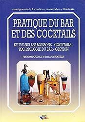 Pratique du bar et des cocktails : Etude sur les boissons, cocktails, technologie du bar, gestion