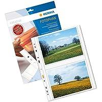 HERMA Fotophan transparent photo pockets 13x18 cm landscape white 250 pcs. - Sheet Protectors (130 x 180 mm, Transparent, White, Polypropylene (PP), Portrait, 230 mm, 310 mm) - Trova i prezzi più bassi su tvhomecinemaprezzi.eu