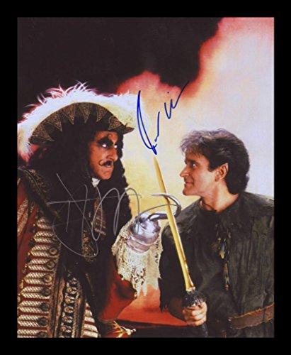 Hook - Dustin Hoffman & Robin Williams Signiert und gerahmt Foto -