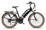 Bicicletta Elettrica Armony Con Pedalata Assistita Bici Torino Marrone Sport