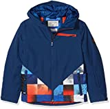 Quiksilver Herren Youth JK Suit Up-Snow Jacket for Boys 8-16, Mandarin red, 10/M