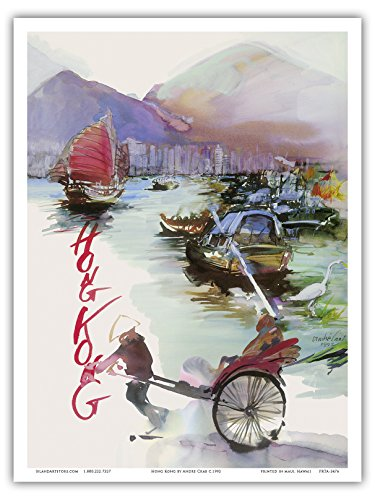 hong-kong-chine-sas-systeme-de-compagnies-aeriennes-scandinaves-rickshaw-voilier-chinois-vintage-air