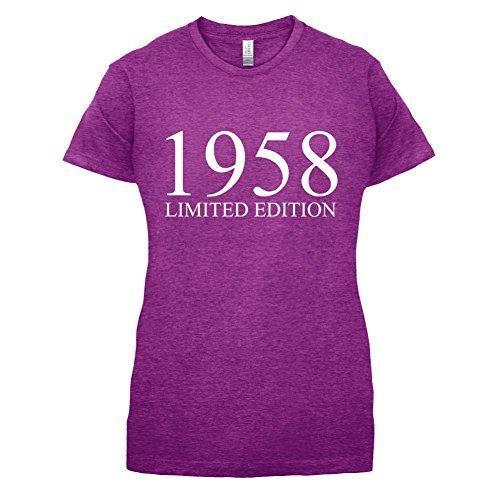 1958 Limierte Auflage / Limited Edition - 59. Geburtstag - Damen T-Shirt - 14 Farben Beere