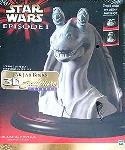 Star Wars-Jar Jar Binks Puzzle-Sculpture 3D