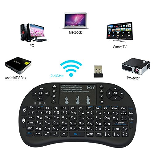 53c3a77c7f4 Mobipro Rii i8+ Mini(Backlit) Wireless Keyboard and Mouse(Touchpad ...