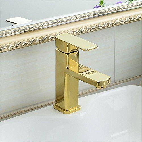 Good quality Wasserhahn für Waschbecken, Antik-Optik, goldfarben