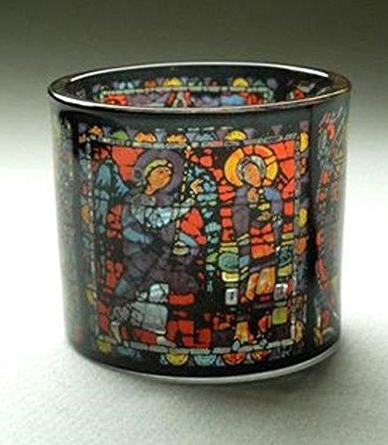 Museumsshop Teelichthalter Motiv Chartres Kathedrale Notre Dame - Teelicht Glas -