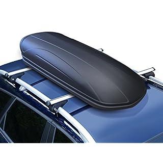 Dachbox VDP-MAA320 schwarz matt Auto-Dachkoffer abschließbar 320 Liter