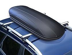 Dachbox VDP-MAA320 schwarz matt Dachkoffer Autokoffer abschließbar 320 Liter
