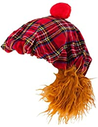 Scottish See You Jimmy Hat Scottish Novelty Fancy Dress Royal Stewart Tartan New
