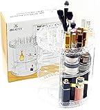 BBeauty® Make-up Organizer, 360° drehbar, Kosmetik Aufbewahrung von Beauty-Produkten & Schmink-Zubehör (Pinsel, Nagellacke, Lippenstifte, Puder) platzsparend, stabiles Acryl